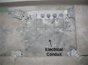 Find Electricl Conduit in Concrete